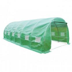 Serre jardin - Tunnel métal (avec 1 bâche) / 18 m2 de marque HABRITA, référence: J4221500