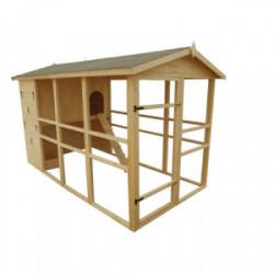 Poulailler XXXL - 6,09 m² de marque HABRITA, référence: J4224300