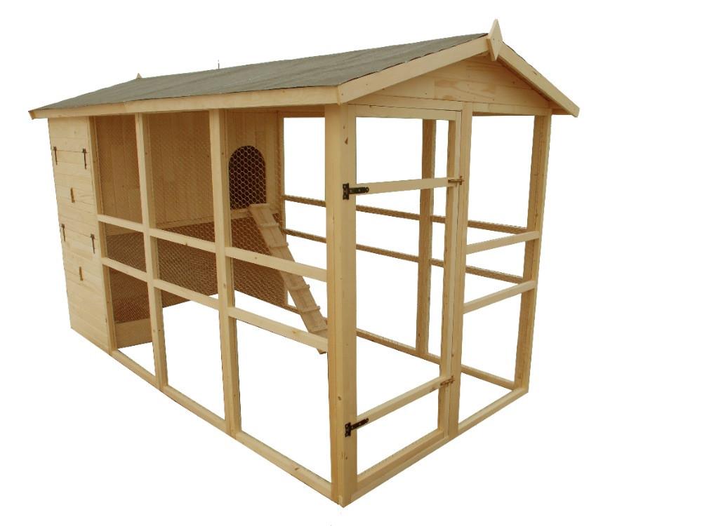 Poulailler XXXL - 6,09 m²