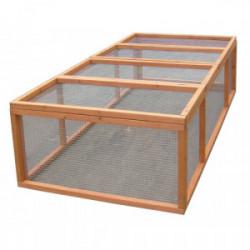 Enclos au sol 4-5 animaux / Sans toit de marque HABRITA, référence: J4224600