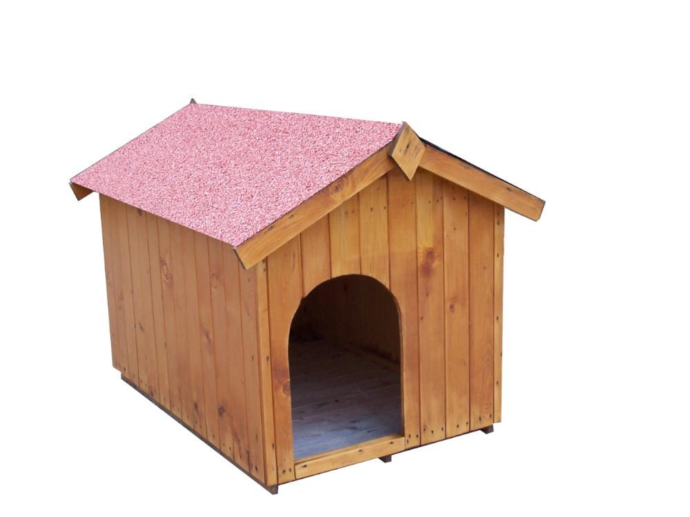 Niche à chien bi-pente pour chiens moyens - 0,96 m²