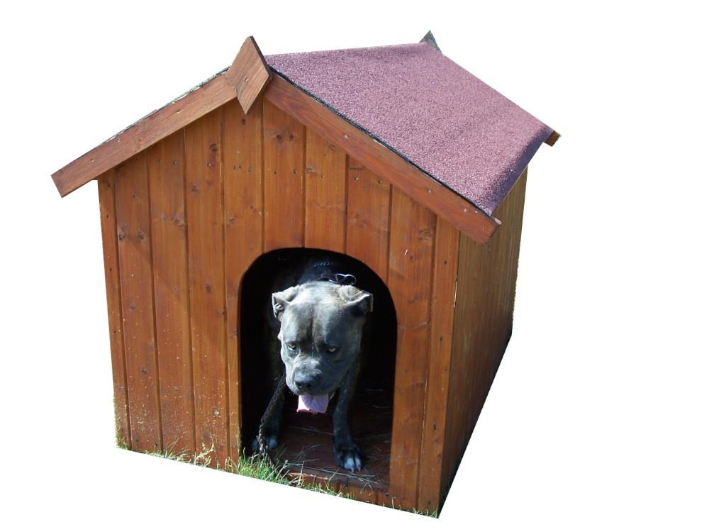 Niche à chien bi-pente pour gros chiens - 1,17 m²