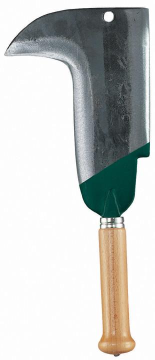 Serpe 2 taillants - 22 cm Manche bois