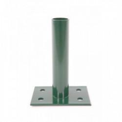 Platine VERTE pour poteau rond de portillon grillagé de marque FILIAC , référence: J4265700