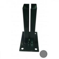 Platine GRISE pour poteaux carrés de Portillons de marque FILIAC , référence: J4267400