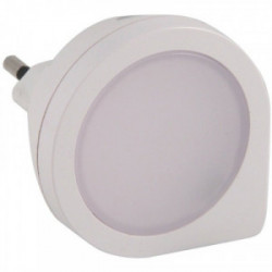Veilleuse crépusculaire + détecteur de mouvement 9 LED avec capteur 1,8W de marque VELAMP, référence: B4282600