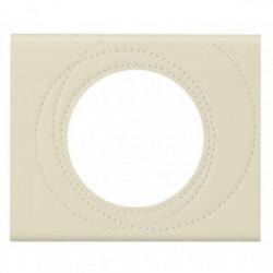 Celiane plaque 1 poste cuir perle de marque LEGRAND, référence: B4287400