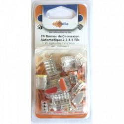 20 bornes automatiques 2-3-4-5 fils de marque PROFILE, référence: B4295000