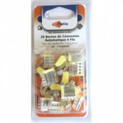 20 bornes automatiques 4 fils de marque PROFILE, référence: B4295300
