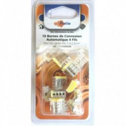 10 bornes automatiques 4 fils de marque PROFILE, référence: B4295400