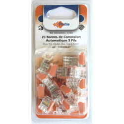 20 bornes automatiques 3 fils de marque PROFILE, référence: B4295500