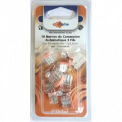 10 bornes automatiques 3 fils de marque PROFILE, référence: B4295600
