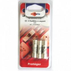 3 fusibles à voyant 10.3x38mm - 32A de marque PROFILE, référence: B4296500