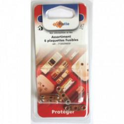 Assortiment 6 plaquettes fusibles de marque PROFILE, référence: B4298200