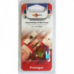 Assortiment 6 minifuses de marque PROFILE, référence: B4298300