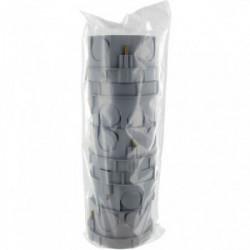 Lot de boîtes d'encastrement à sceller diamètre 60mm profondeur 40mm sans vis de marque BLM, référence: B4304900