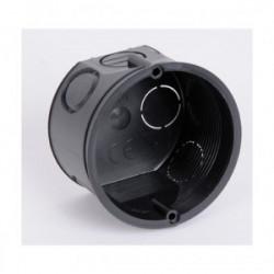 Boîte d'encastrement à sceller diamètre 60mm profondeur 40mm sans vis de marque BLM, référence: B4305000