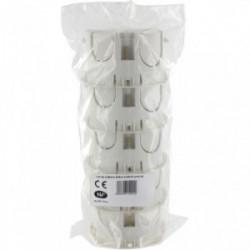 Lot de 5 boîtes encastrée bibox diamètre 65-67mm profondeur 40mm à vis de marque BLM, référence: B4305600