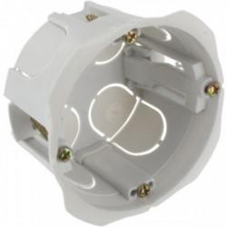 Boîte encastrée bibox diamètre 65-67mm profondeur 40mm à vis de marque BLM, référence: B4306100
