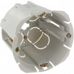 Boîte encastrée bibox diamètre 65-67mm profondeur 55mm à vis de marque BLM, référence: B4306200