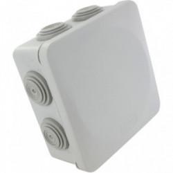 Boîte de dérivation carrée étanche 100x100mm de marque BLM, référence: B4306800