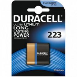Blister 1 pile ultra photo 223 - CRP2 de marque DURACELL, référence: B4311000