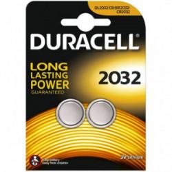 Blister 2 piles Electronics 2032 de marque DURACELL, référence: B4311100