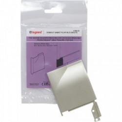 DLP sabot a droite 82x12.5 mm titane de marque LEGRAND, référence: B4320200