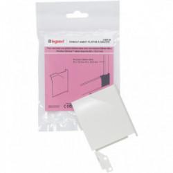DLP sabot gauche 82x12.5 mm blanc de marque LEGRAND, référence: B4320400