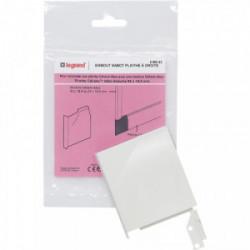 DLP sabot droit 82x12.5 blanc de marque LEGRAND, référence: B4320500