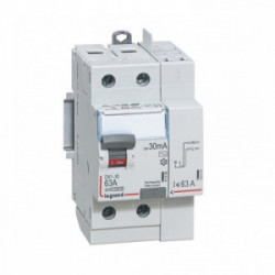 Interrupteur différentiel 63A - TYPE AC 30mA automatique de marque LEGRAND, référence: B4321000
