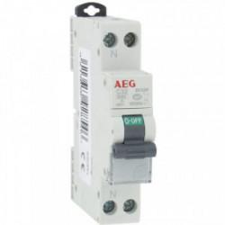 Disjoncteur phase+neutre 32A de marque AEG, référence: B4322500