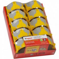 Lot de 10 boites Batibox energy de marque LEGRAND, référence: B4329900