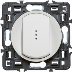 Celiane interrupteur simple lumineux blanc de marque LEGRAND, référence: B4333200