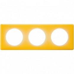 Celiane plaque 3 postes today jaune de marque LEGRAND, référence: B4334200