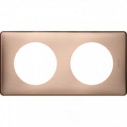 Celiane plaque 2 poste copper cuivre de marque LEGRAND, référence: B4335500