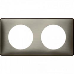 Celiane plaque 2 postes tungstene de marque LEGRAND, référence: B4335600