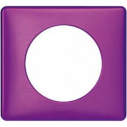 Celiane plaque 1 poste violet irise de marque LEGRAND, référence: B4336800
