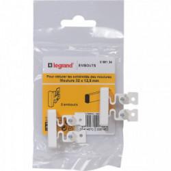 DLP embout pour moulure 32x12.5 mm de marque LEGRAND, référence: B4338900