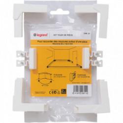 DLP kit raccordement moulure tour de pièce 32x12.5 mm de marque LEGRAND, référence: B4339200