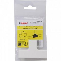 DLP raccordement moulure en T dérivation 20x12.5 mm de marque LEGRAND, référence: B4339400