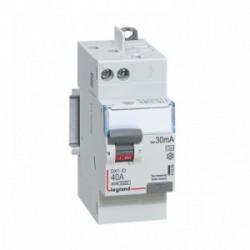 Interrupteur différentiel 40A - type A 30mA automatique de marque LEGRAND, référence: B4339800