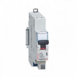 Disjoncteur phase + n 20A auto de marque LEGRAND, référence: B4340100