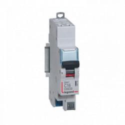 Disjoncteur phase + n 16A auto de marque LEGRAND, référence: B4340200