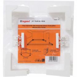 DLP tour de pièce 40x16 mm de marque LEGRAND, référence: B4343300