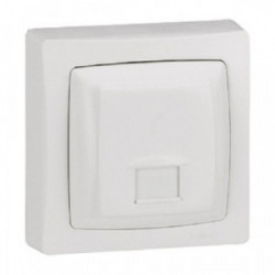 ASL prise RJ45 cat.5 FTP blanc de marque LEGRAND, référence: B4344500