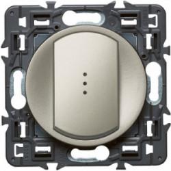 Celiane interrupteur simple témoin titane de marque LEGRAND, référence: B4345400