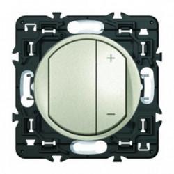 Celiane ecovariateur composable titane de marque LEGRAND, référence: B4345900