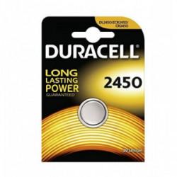 Blister 1 pile Electronics 2450 de marque DURACELL, référence: B4347100