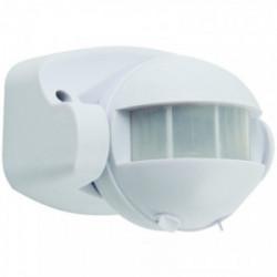 Détecteur de mouvement infrarouge IP44 angle de 140-180° de marque VELAMP, référence: B4348100